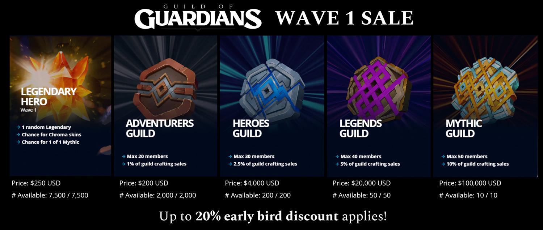 guia guild of guardians ganar dinero