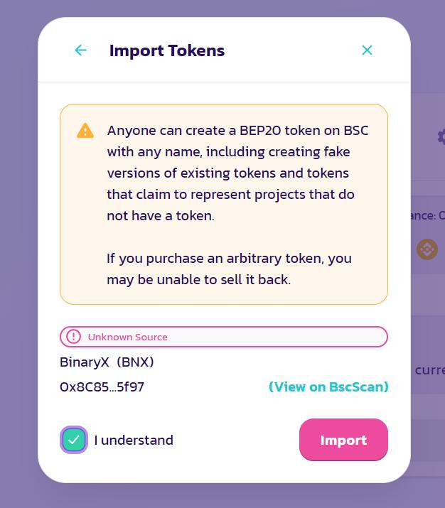 bnx token