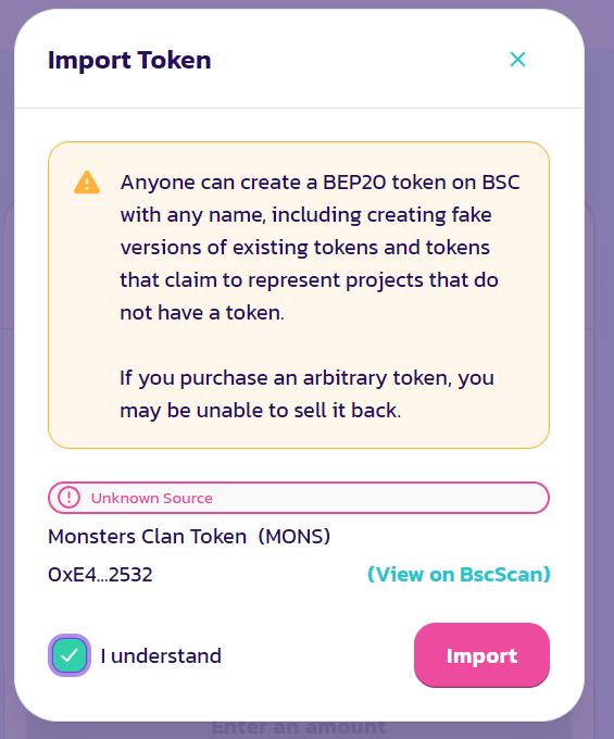 mons token