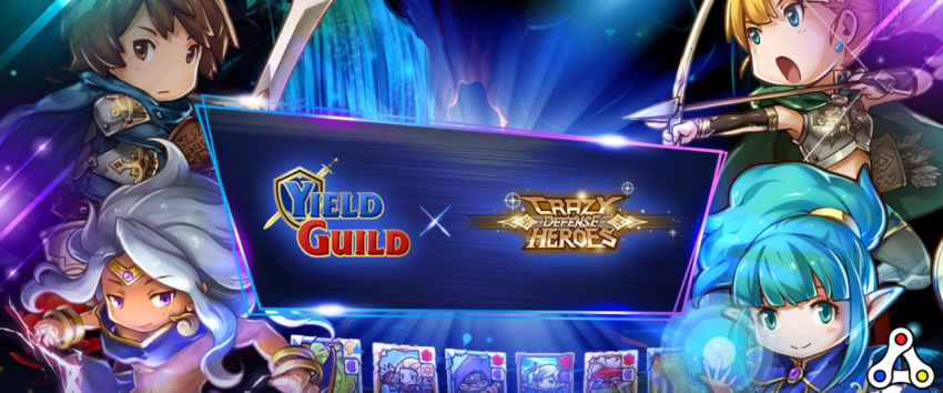 YGG Crazy Defense Heroes Token Guild Performance Tower