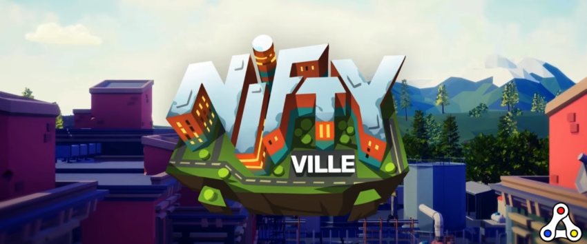 tráiler de ilustraciones del logotipo de niftyville